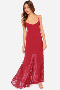 LULUS Exclusive Under The Full Swoon Berry Pink Maxi Dress at Lulus.com!