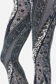 Spanish Moss Grey Floral Print Pants at Lulus.com!