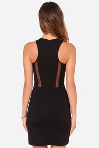 BB Dakota Artus Black Dress at Lulus.com!