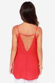 LULUS Exclusive Right Back At It Red Tank Top at Lulus.com!