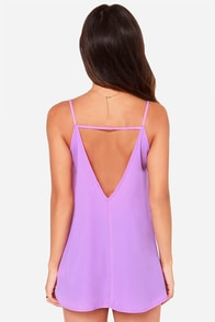 LULUS Exclusive Right Back At It Orchid Purple Tank Top at Lulus.com!