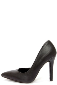 My Delicious Mitten Black D'Orsay Pumps at Lulus.com!
