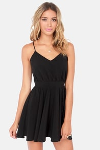Lucy Love Penelope Black Dress