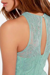 Bariano Serena Sage Green Maxi Dress at Lulus.com!