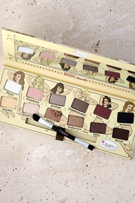 The Balm Nude'tude Nude Eye Shadow Kit at Lulus.com!
