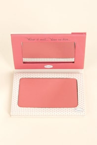 The Balm Instain Swiss Dot Peach Powder Blush at Lulus.com!