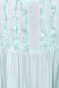 Black Swan Origin Light Blue Tank Dress at Lulus.com!