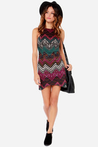 Ladakh Illusionist Multi Print Dress at Lulus.com!