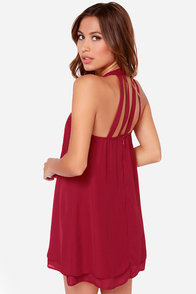 LULUS Exclusive Havana Club Wine Red Dress at Lulus.com!