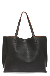 LULUS Exclusive Switch it Up Reversible Tan and Black Tote at Lulus.com!