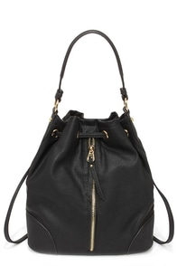 Boom Clap Black Convertible Backpack at Lulus.com!