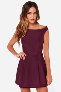 Keepsake Nicest Thing Burgundy Dress at Lulus.com!