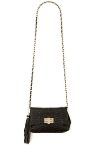 Big Buddha Jerome Black Purse at Lulus.com!