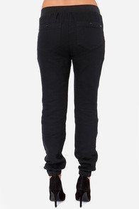 Obey Jamesport Black Pants at Lulus.com!