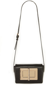 Twistery Lesson Black Twist-Lock Purse at Lulus.com!