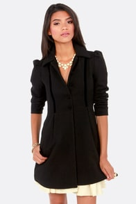 BB Dakota by Jack Buckingham Black Frock Coat