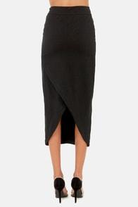 Gentle Fawn Soho Black Midi Skirt at Lulus.com!