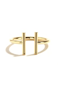 You're Two Kind Gold Ring at Lulus.com!