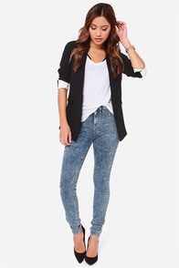 Dittos Kelly High Rise Acid Wash Jeggings at Lulus.com!