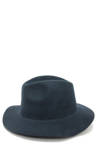Rhythm The Pocket Slate Blue Fedora Hat at Lulus.com!