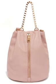 Something To Talk About Blush Purse at Lulus.com!