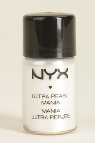 NYX White Loose Pearl Eye Shadow at Lulus.com!