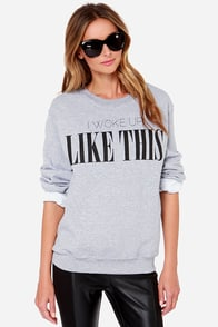 The Laundry Room Like This Grey Sweater at Lulus.com!