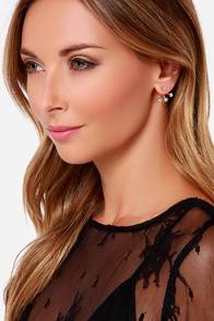 Light Up My Life Gold Rhinestone Earrings at Lulus.com!