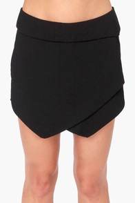 Let It Hide Black Shorts at Lulus.com!