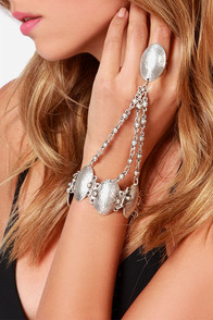 Call Me Calypso Silver Harness Bracelet at Lulus.com!