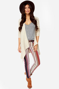 Roxy Sunstrippers Multi Striped Pants at Lulus.com!