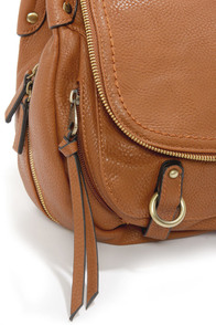 Home Stretch Brown Handbag at Lulus.com!