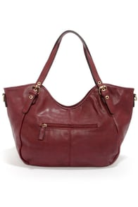 Bags to Riches Burgundy Tote at Lulus.com!