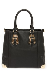 Seventh Wonder Black Handbag at Lulus.com!