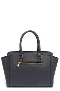 In the Dark of the Night Navy Blue Handbag at Lulus.com!