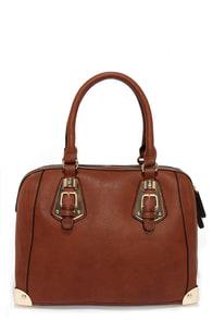 Split to Spare Brown Handbag at Lulus.com!