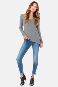 Dittos Kelly Sonic Wash Distressed High Rise Jeggings