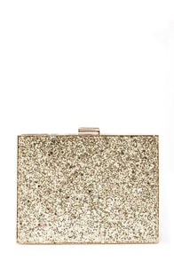 Secrets of the Gliteratti Gold Clutch at Lulus.com!