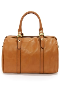 Take It Purse-onal Tan Barrel Bag at Lulus.com!
