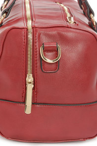 Carried Away Wine Red Handbag at Lulus.com!