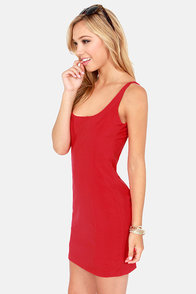 Lucy Love Casandra Red Dress at Lulus.com!