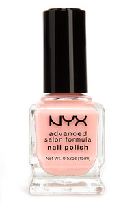 NYX Advanced Salon Formula Elegance Light Pink Nail Polish at Lulus.com!