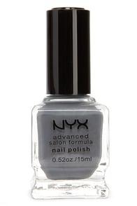 NYX Advanced Salon Formula Grey Nail Polish at Lulus.com!