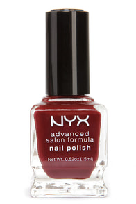NYX Advanced Salon Formula Wine Red Nail Polish at Lulus.com!