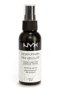 NYX Dewy Finish Makeup Setting Spray at Lulus.com!