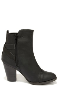 Ankle High Black Boots
