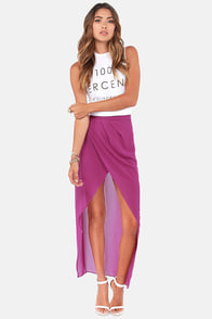 Comet's Tail Purple Skirt at Lulus.com!