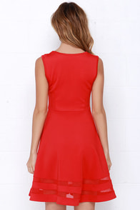 Final Stretch Red Dress at Lulus.com!