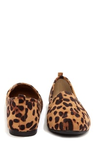 Bamboo Rosalba 01Y Leopard Suede Loafer Flats at Lulus.com!