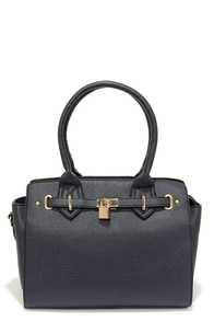 On Lockdown Navy Blue Handbag at Lulus.com!
